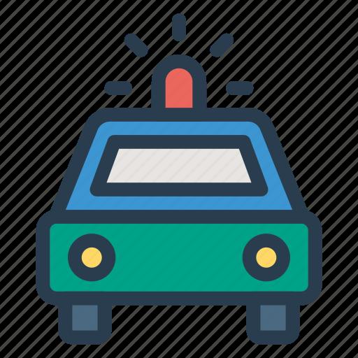 ambulance, car, emergency, medicine, police, transport, vehicle icon