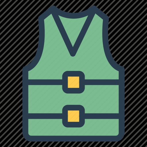 clothes, hood, jacket, lifejacket, safe, shirt, wear icon