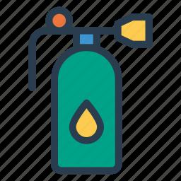 cylinder, figure, flask, gas, kitchen, oxygen, securityalert icon