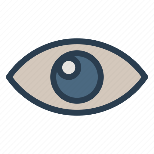 eye, eyeglasses, glasses, irisscan, see, spectacles, vision icon
