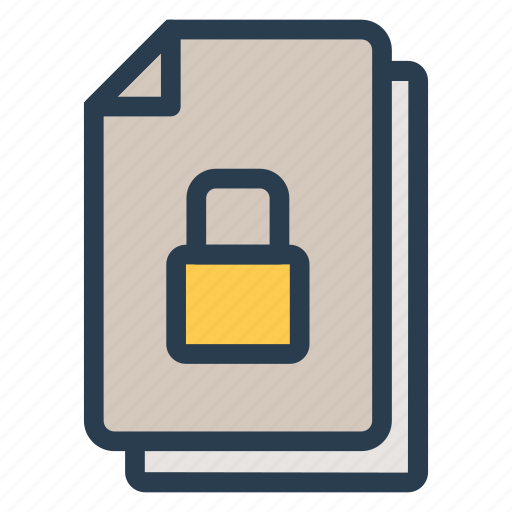 administrator, file, privacy, private, safety, secure, security icon