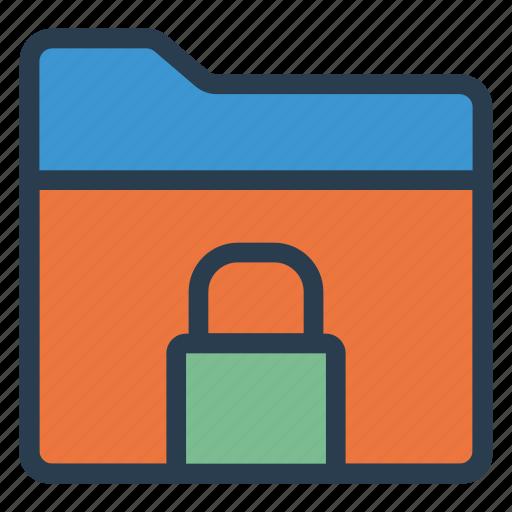 close, document, filelock, folder, folderclosed, lock, security icon