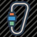 crane, fishing, fishingbait, fishinghook, fishingtackle, hook, pickup icon