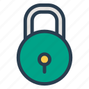 key, lock, locked, locker, private, secure, security icon