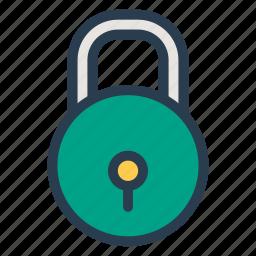 key, lock, locked, locker, private, secure, security icon