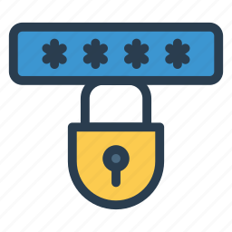 key, lock, password, private, protected, safe, security icon