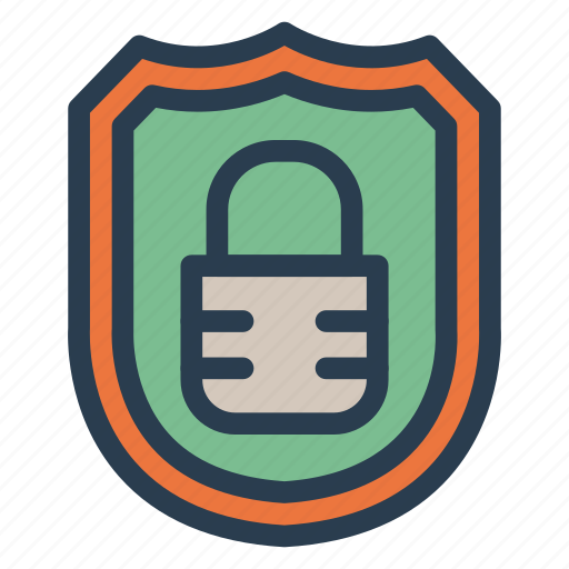 block, lock, locked, locker, secured, security, shield icon