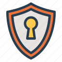 lock, locked, network, padlock, password, private, protected icon