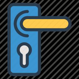 doorlock, locker, protection, roomlocker, safety, secure, security icon