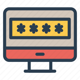 computer, device, laptop, mac, monitor, pc, protector icon