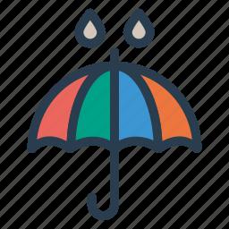 beach, beachumbrella, protection, rain, safety, shade, umbrella icon