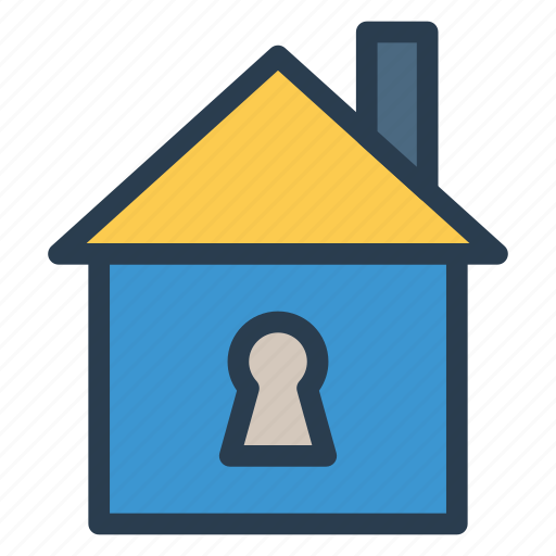 home, lock, lockedpc, pclocked, privacy, secuirty, secured icon