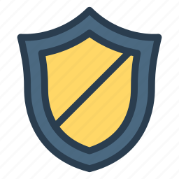 block, lock, locked, protect, protection, secure, shield icon