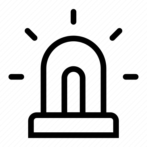 bulb, electricity, emergency, lamp, light, lightbulb, power icon