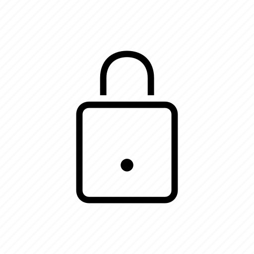 lock, office, protection, safety, secure icon