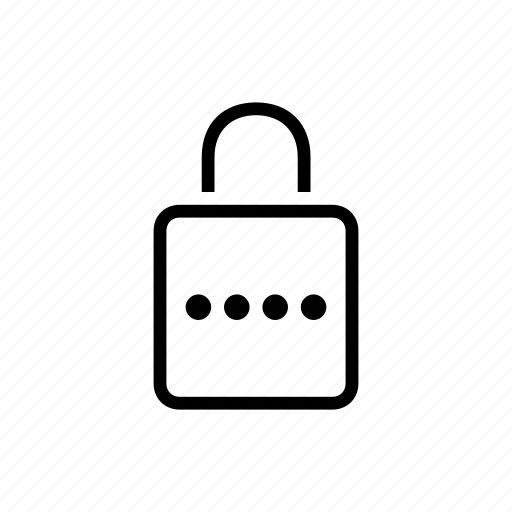 lock, office, password, protected, safe icon
