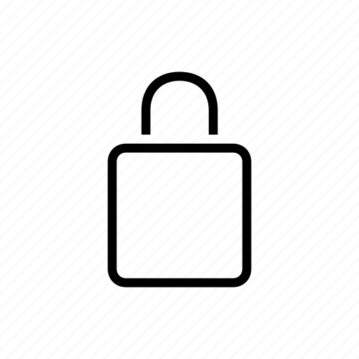 blank, lock, security icon