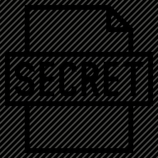 classified, document, file, secret, secret document, secret file, security icon
