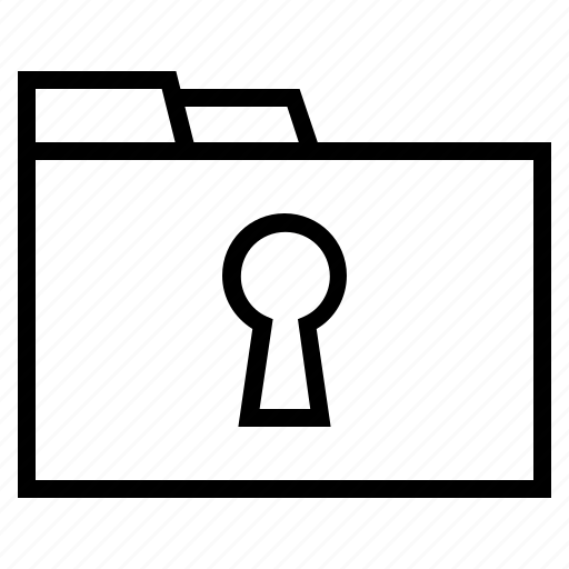 classified document, locked document, locked folder, secret document, secret file, secure folder, security icon