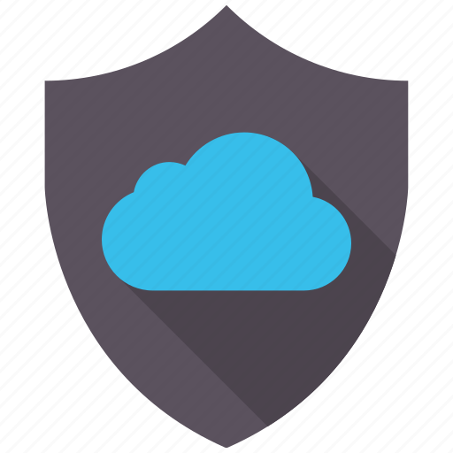 cloud, encryption, firewall, guard, secure, shield icon