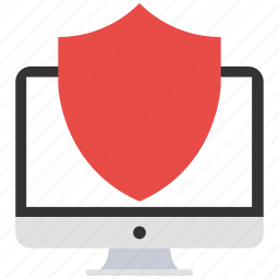 computer, encryption, firewall, guard, security, shield icon