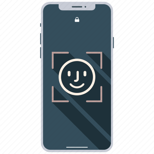 encryption, face, firewall, guard, scan, shield icon