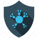 community, encryption, firewall, guard, secure, shield icon