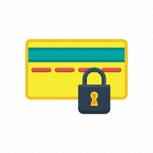 credit card, debit card, finance, payment, protection, secured, security icon