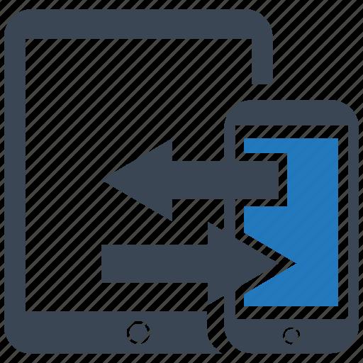 data, database, file, network, server, storage, transfer icon