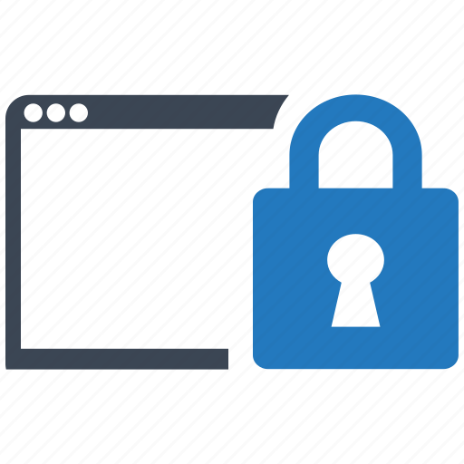 key, locked, page, password, protection, safe, security icon