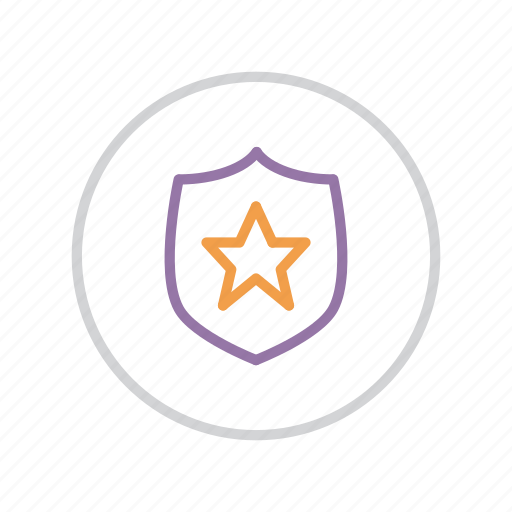 authentication, award, premium, protection, secure, security, shield icon