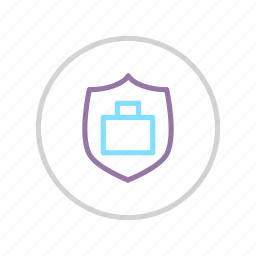 deal, protection, secure, security, shield, transaction, travel icon
