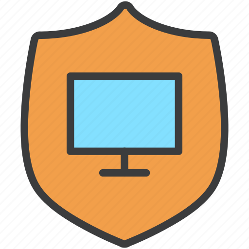 access, authentication, computer, password, protection, security, shield icon