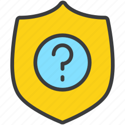 authentication, help, info, information, protection, security, shield icon
