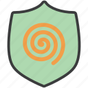 authentication, complexity, protection, secure, security, shield icon