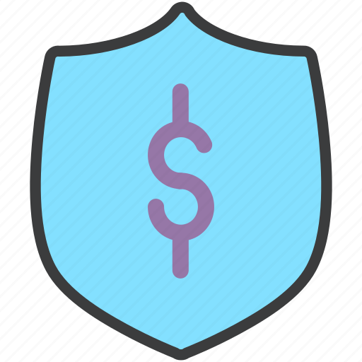 authentication, finance, protection, secure, security, shield, trade icon