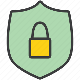 authentication, lock, password, protection, secure, security, shield icon