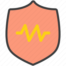 activity, authentication, protection, secure, security, shield, transaction icon