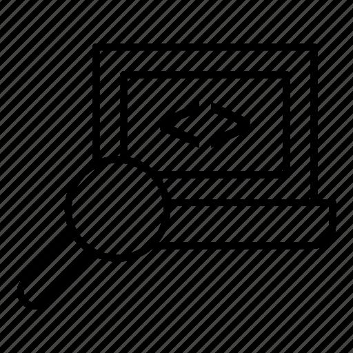 code, codeoptimization, coding, document, editor, html, programming icon