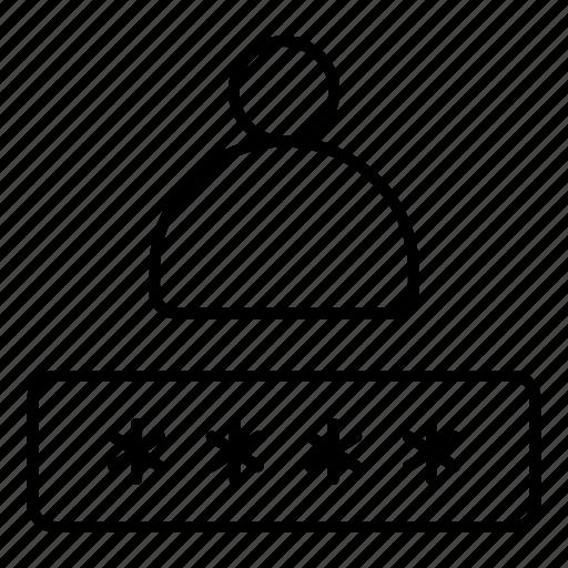 boy, male, password, person, profile, secure, user icon
