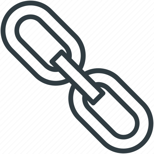 chain, hyperlink, internet, link, seo icon