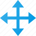 arrow, cursor, directions, mouse, move, pointer icon