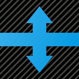 cursor, mouse, move, pointer, scale, vertical icon