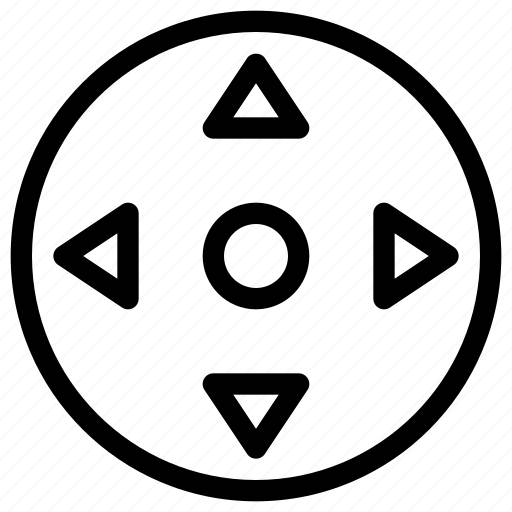 arrow, control, direction, location, navigation icon