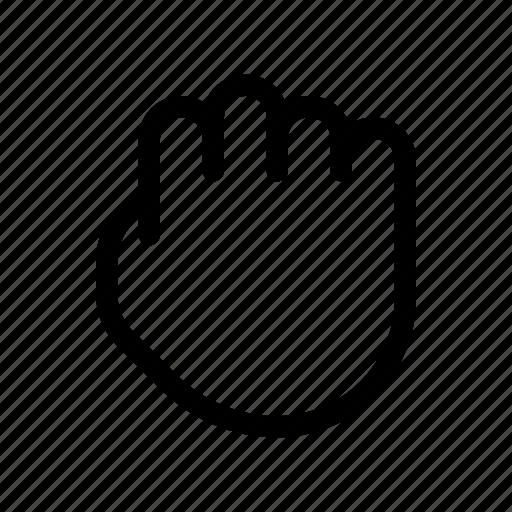 arrow, direction, drag, hand, move icon