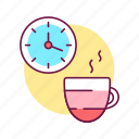 take, cup, rest, break, self control, time, drink icon