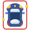 driverless, car, autonomous, smart, self, driving, automation icon