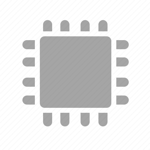 chip, core, cpu, electronics, semiconductor icon