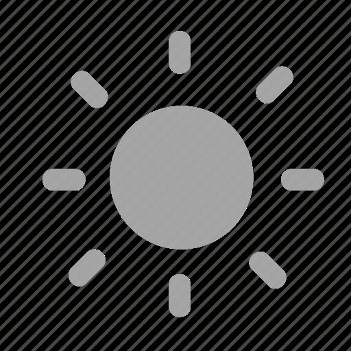 energy, heat, illumination, pv, solar, sun icon