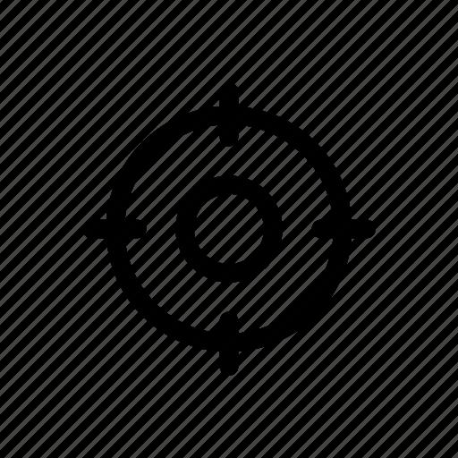 aim, analyze, marketing, optimize, seo, target icon